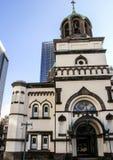 Θρησκευτική αρχιτεκτονική της Ιαπωνίας Ρωσική εκκλησία στο Τόκιο Στοκ εικόνα με δικαίωμα ελεύθερης χρήσης
