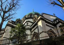 Θρησκευτική αρχιτεκτονική της Ιαπωνίας Ρωσική εκκλησία στο Τόκιο Στοκ Εικόνα