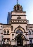 Θρησκευτική αρχιτεκτονική της Ιαπωνίας Ρωσική εκκλησία στο Τόκιο Στοκ φωτογραφία με δικαίωμα ελεύθερης χρήσης