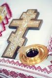 Θρησκευτική ιεροτελεστία στοιχείων Στοκ Φωτογραφίες