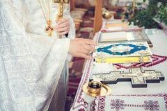 Θρησκευτική ιεροτελεστία στοιχείων Στοκ φωτογραφία με δικαίωμα ελεύθερης χρήσης