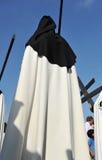 Θρησκευτική πομπή σε Triana, ιερή εβδομάδα στη Σεβίλη, Ανδαλουσία, Ισπανία στοκ εικόνα με δικαίωμα ελεύθερης χρήσης