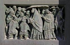 Θρησκευτική πομπή Στοκ εικόνα με δικαίωμα ελεύθερης χρήσης