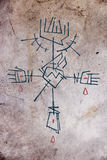 Θρησκευτικοί σταυρός και σύμβολα Στοκ εικόνα με δικαίωμα ελεύθερης χρήσης