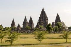 Θρησκευτικός ναός Prambanan στοκ φωτογραφίες