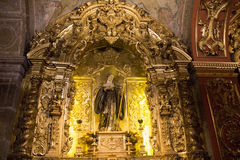 Θρησκευτικός τουρισμός στο Ρίο ντε Τζανέιρο κεντρικός Στοκ εικόνες με δικαίωμα ελεύθερης χρήσης