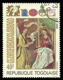 Θρησκευτικό θέμα Χριστουγέννων Στοκ Εικόνα