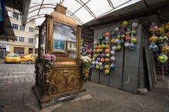 Θρησκευτικό μνημείο στον Ισημερινό Στοκ Εικόνες