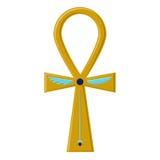 Θρησκευτικό σημάδι του αρχαίου αιγυπτιακού σταυρού - Ankh Ένα σύμβολο της ζωής σύμβολα της Αιγύπτου απεικόνιση αποθεμάτων