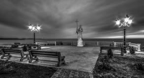 Θρησκευτικό χριστιανικό μνημείο στοκ εικόνα με δικαίωμα ελεύθερης χρήσης