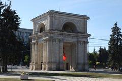 Θριαμβευτική αψίδα, Kishinev Chisinau Μολδαβία Στοκ εικόνες με δικαίωμα ελεύθερης χρήσης