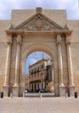 Θριαμβευτική αψίδα σε Lecce Στοκ φωτογραφία με δικαίωμα ελεύθερης χρήσης