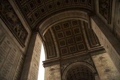 Θριαμβευτικό τεμάχιο αψίδων της Γαλλίας Παρίσι Στοκ Εικόνες