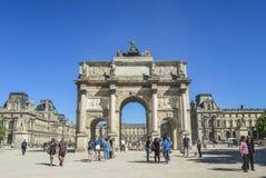 Θριαμβευτικό Arch Arc de Triomphe du ιπποδρόμιο Στοκ Φωτογραφίες