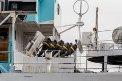 Θρυαλλίδες πυροβολικού Στοκ Εικόνα