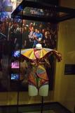 Θρυλικό κοστούμι στο σύνολο στην έκθεση SNL σε NYC στοκ εικόνες