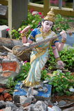 Θρυμμάτισμα Saraswati Στοκ Φωτογραφία