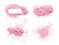 Θρυμματισμένη ρόδινη σκόνη στοκ εικόνα με δικαίωμα ελεύθερης χρήσης