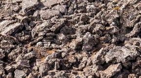 Θρυμματισμένος ηφαιστειακός βράχος στοκ φωτογραφίες