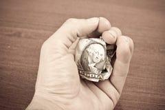 Θρυμματισμένος λογαριασμός δολαρίων στοκ εικόνα με δικαίωμα ελεύθερης χρήσης