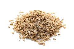 Θρυμματισμένο ακατέργαστο oatmeal Στοκ Φωτογραφίες
