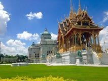 θρόνος αιθουσών ananta samakhom στοκ φωτογραφία