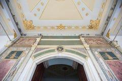 θρόνος δωματίων παλατιών ε Στοκ εικόνες με δικαίωμα ελεύθερης χρήσης