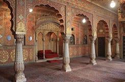Θρόνος Kingï ¿ ½ s, οχυρό Junagarh, Bikaner στοκ φωτογραφία με δικαίωμα ελεύθερης χρήσης