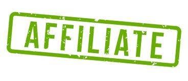 Θυγατρική που εμπορεύεται το τετραγωνικό διακριτικό γραμματοσήμων grunge πράσινο στοκ εικόνα