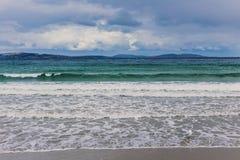 Θυελλώδεις θερινοί ουρανοί στην παραλία του Κίνγκστον, Χόμπαρτ Στοκ εικόνες με δικαίωμα ελεύθερης χρήσης