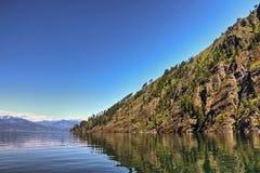 Θυελλώδες σημείο, λίμνη Pend Oreille στοκ φωτογραφία με δικαίωμα ελεύθερης χρήσης