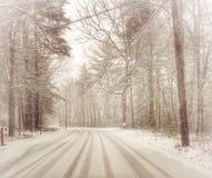 Θυελλώδης δρόμος Στοκ Εικόνες