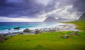 Θυελλώδης Νορβηγία εάν Στοκ εικόνα με δικαίωμα ελεύθερης χρήσης
