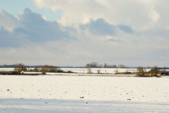 θυελλώδης χειμώνας ου&rho Στοκ Φωτογραφία
