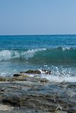 θυελλώδη κύματα Στοκ Φωτογραφία