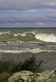 Θυελλώδη κύματα Στοκ Εικόνες