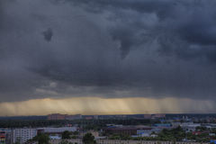 Θυελλώδες skyscape στοκ εικόνες