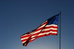 Θυελλώδης αμερικανική σημαία 3 Στοκ φωτογραφίες με δικαίωμα ελεύθερης χρήσης