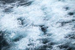 Θυελλώδης επιφάνεια νερού του βόρειου Ατλαντικού Ωκεανού Στοκ Φωτογραφίες