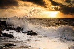 Θυελλώδης θάλασσα Στοκ Εικόνες