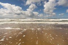 Θυελλώδης κυματωγή θάλασσας Στοκ Εικόνες