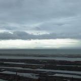 Θυελλώδης ωκεάνιος ουρανός Στοκ φωτογραφία με δικαίωμα ελεύθερης χρήσης