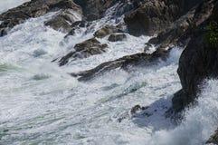 θυελλώδη κύματα Στοκ φωτογραφίες με δικαίωμα ελεύθερης χρήσης