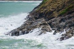 θυελλώδη κύματα Στοκ εικόνα με δικαίωμα ελεύθερης χρήσης