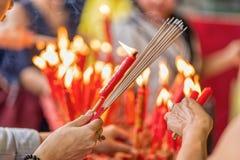 Θυμίαμα και κερί καψίματος στοκ φωτογραφία με δικαίωμα ελεύθερης χρήσης