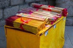 Θυμίαμα καψίματος θυμιάματος της Κίνας Στοκ εικόνες με δικαίωμα ελεύθερης χρήσης