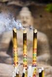 θυμίαμα καψίματος Στοκ Φωτογραφίες