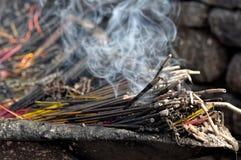 θυμίαμα καψίματος Στοκ εικόνα με δικαίωμα ελεύθερης χρήσης