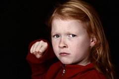 Θυμός Στοκ εικόνα με δικαίωμα ελεύθερης χρήσης