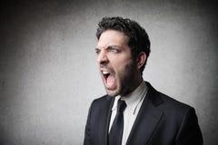 Θυμός Στοκ φωτογραφία με δικαίωμα ελεύθερης χρήσης